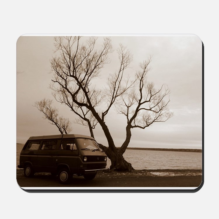 Vanagon by the Lake Mousepad
