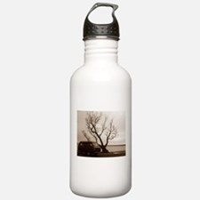Vanagon by the Lake Water Bottle