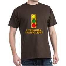 Lithuanian Traffic Light T-Shirt