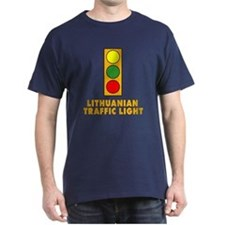 Lithuanian Traffic Light T-Shirt