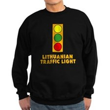 Lithuanian Traffic Light Sweatshirt