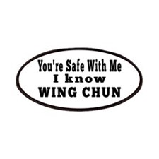 I Know Wing Chun Patches