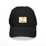 White Leghorn Chickens Black Cap