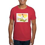 White Leghorn Chickens Dark T-Shirt