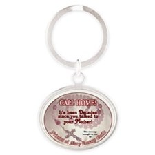 Funny Communion Oval Keychain