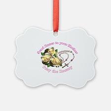 Cute Rosary Ornament