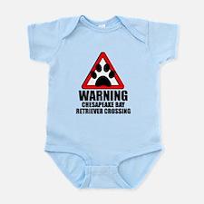 Chesapeake Bay Retriever Warning Body Suit