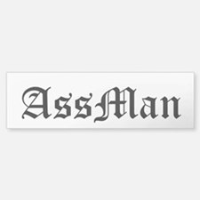 AssMan Car Car Sticker