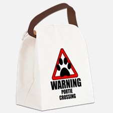 Portie Warning Canvas Lunch Bag