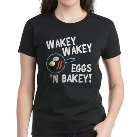 Bacon And Eggs Women's Dark T-Shirt