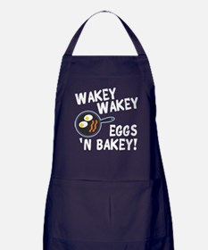 Bacon And Eggs Apron (dark)