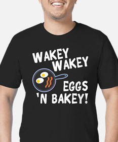 Bacon And Eggs Men's Fitted T-Shirt (dark)