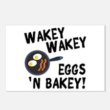 Bacon And Eggs Postcards (Package of 8)