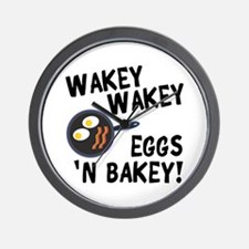 Bacon And Eggs Wall Clock