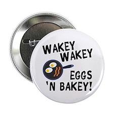 """Bacon And Eggs 2.25"""" Button"""