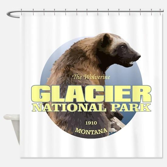 Glacier NP Shower Curtain