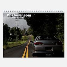 CB7tuner OA 2013 Wall Calendar
