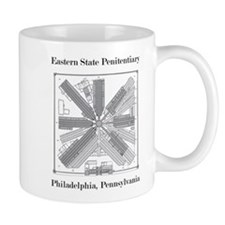 Eastern State Penitentiary Map Mug