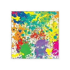 Colorful Splatter Sticker