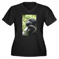 Mountain Gorilla Father Son Plus Size T-Shirt