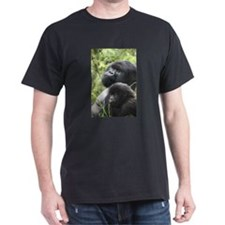 Mountain Gorilla Father Son T-Shirt