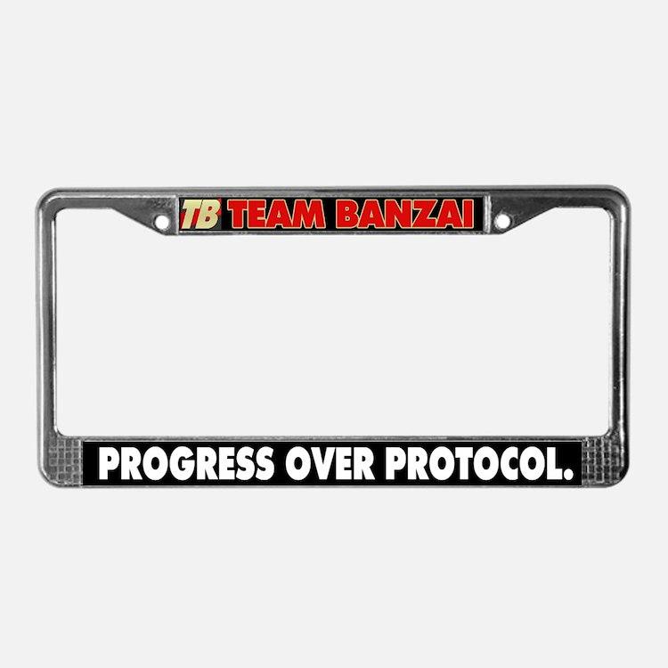 TB License Plate Frame