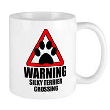 Silky Terrier Warning Mug
