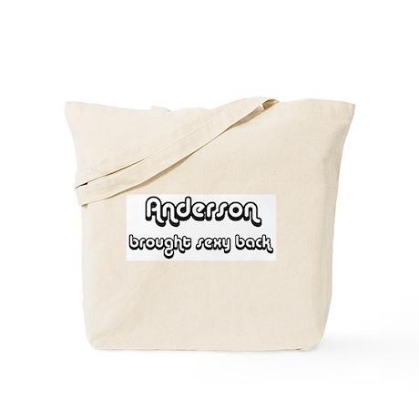 Sexy: Anderson Tote Bag