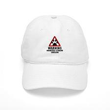 Norwegian Elkhound Warning Baseball Baseball Cap