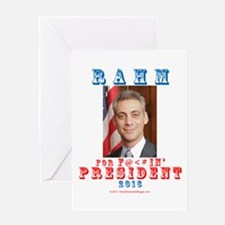 Rahm 2016 Greeting Card