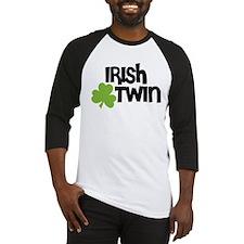 Irish Twin Shamrock Baseball Jersey
