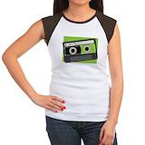 80s retro songs Women's Cap Sleeve T-Shirt