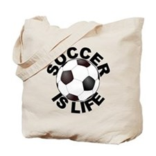 Soccer Is Life Tote Bag