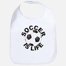 Soccer Is Life Bib