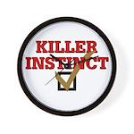 Killer Instinct Wall Clock
