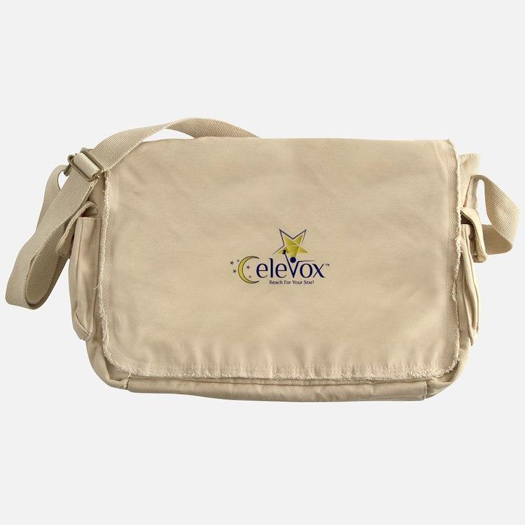 Celevox Logo Messenger Bag