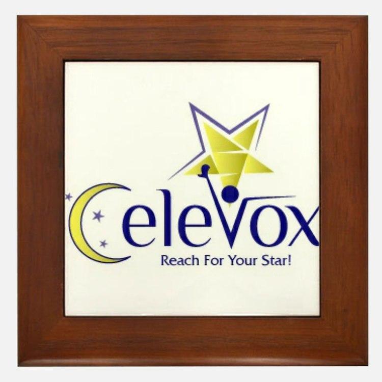 Celevox Logo Framed Tile