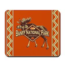Banff Natl Park Moose Mousepad