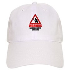 Warning: Baseball Player Baseball Baseball Cap