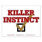 Killer Instinct Small Poster