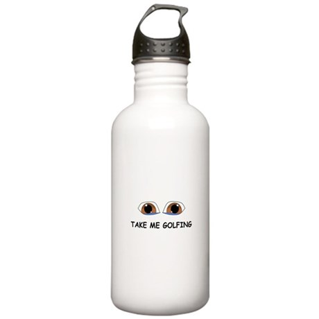 Take Me Golfing Water Bottle