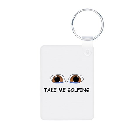 Take Me Golfing Keychains