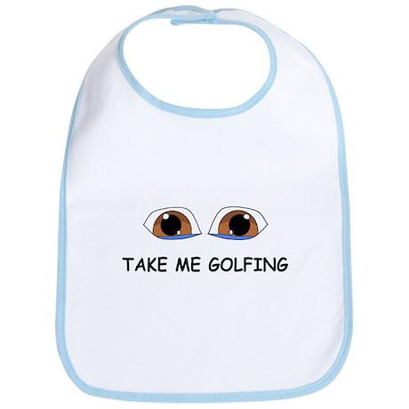 Take Me Golfing Bib