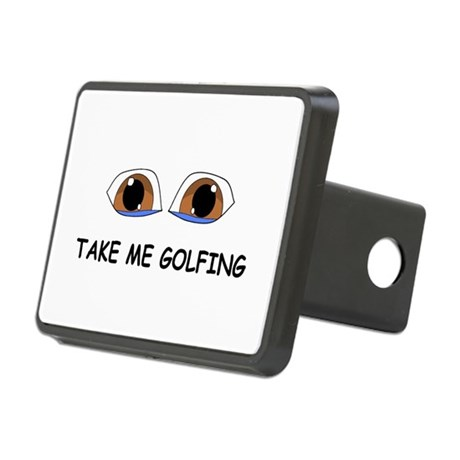 Take Me Golfing Hitch Cover