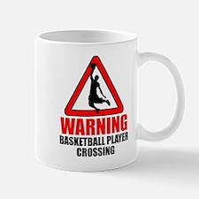 Warning: Basketball Player Mug