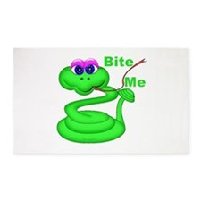 Bite Me Snake 3'x5' Area Rug