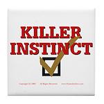 Killer Instinct Tile Coaster