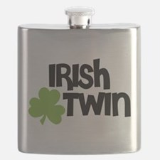 Irish Twin Shamrock Flask
