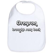 Sexy: Grayson Bib