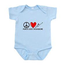 Peace, Love, Trombone Body Suit